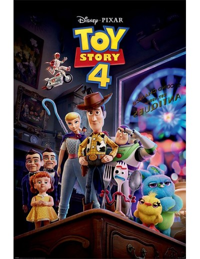 Toy Story 4 Póster Antique...