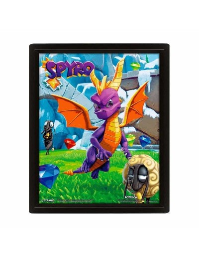 Póster 3D Spyro the Dragon...