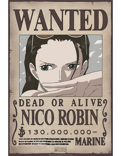 One Piece Wanted Nico Robin...