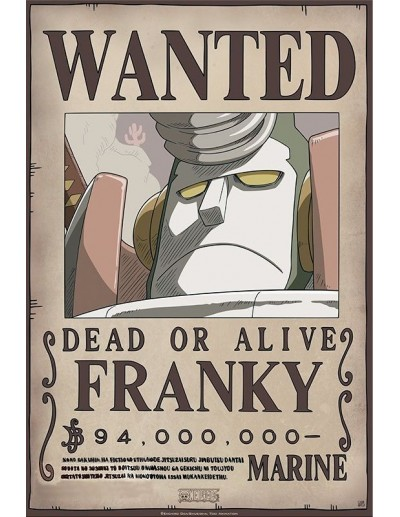 One Piece Wanted Franky New...