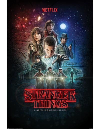 Stranger Things Póster...