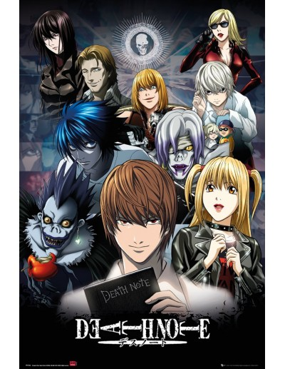 Death Note Collage Póster...
