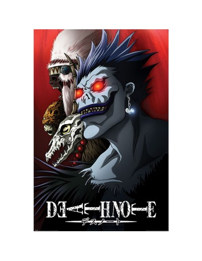 Death Note Póster Shinigami...