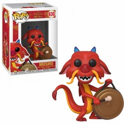 POP! Mulan - Mushu with Gong