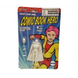 Comic Book Hero Woman 01