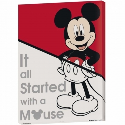 Disney Cuadro Canvas It All...