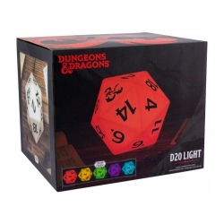 Lámpara D20 Dungeons & Dragons