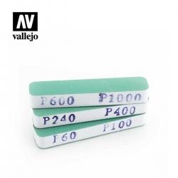 Vallejo - 3 Dual-Grit Flexi...
