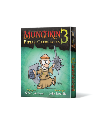 MUNCHKIN 3, PIFIAS CLERICALES