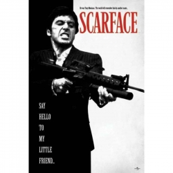 Póster Scarface Say Hello...