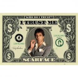 Póster Scarface I Trust Me...