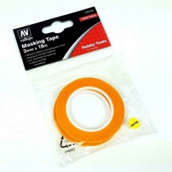 Masking Tape 3mm X 18m