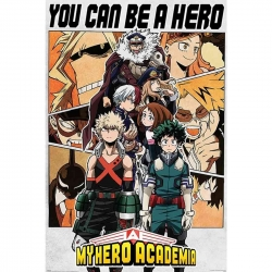 My Hero Academia Póster Be...