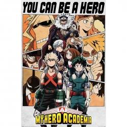 My Hero Academia Póster Be...
