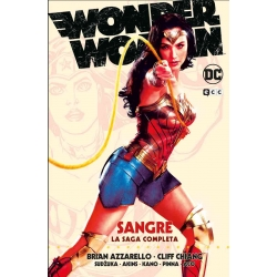 Wonder Woman Sangre La Saga...