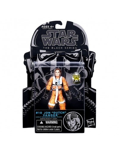 "STAR WARS THE BLACK SERIES - JON ""DUTCH"" VANDER"