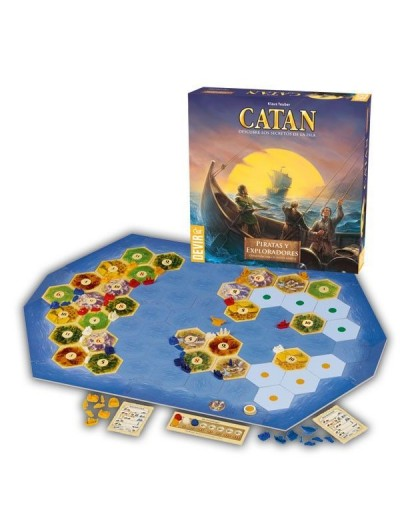 CATAN, PIRATAS Y EXPLORADORES