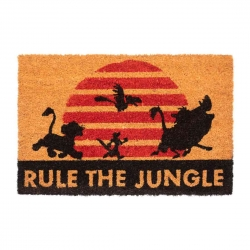 "Felpudo The Lion King ""Rule..."