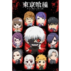 Poster Tokyo Ghoul Chivi