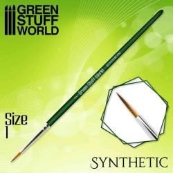 Pincel Sintético 1 Green...