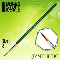 Pincel Sintético 2 Green...