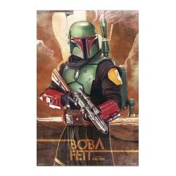 Boba Fett Star Was Poster