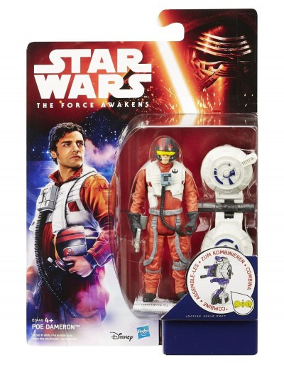 FIGURA CAPTAIN POE DAMERON SERIE JUNGLE/SPACE