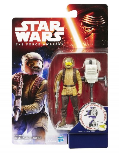 FIGURA RESISTANCE TROOPER  SERIE JUNGLE/SPACE
