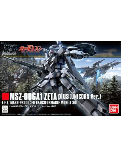 1/144 HG MSZ-006A1 ZETA PLUS (UNICORN Ver.)