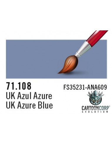 71108  - UK AZUL AZURE