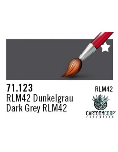 71123  - GRIS OSCURO RLM42