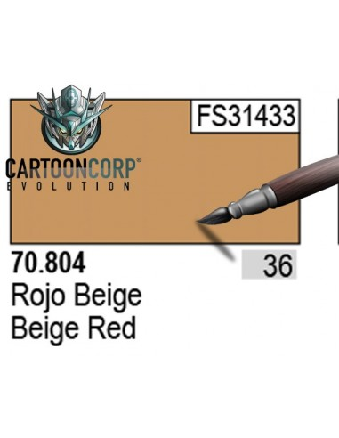 036 - 70804 - ROJO BEIGE