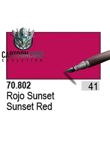 041 - 70802 - ROJO SUNSET