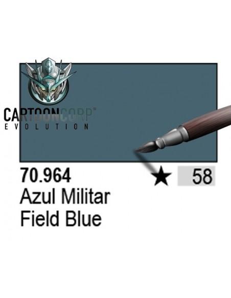 058 - 70964 - AZUL MILITAR