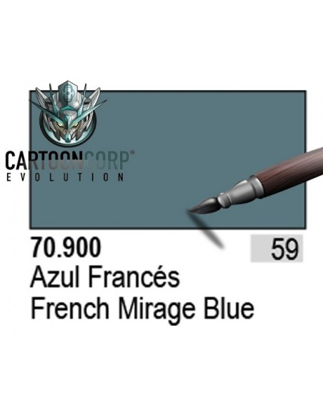059 - 70900 - AZUL FRANCES