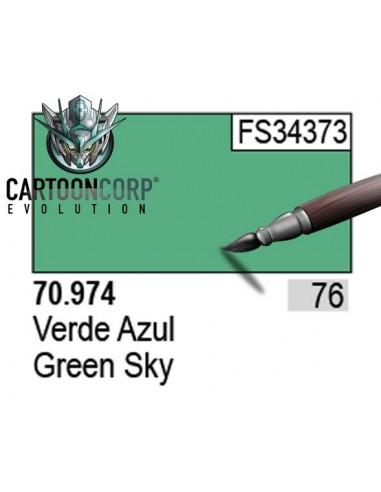 076 - 70974 - VERDE AZUL