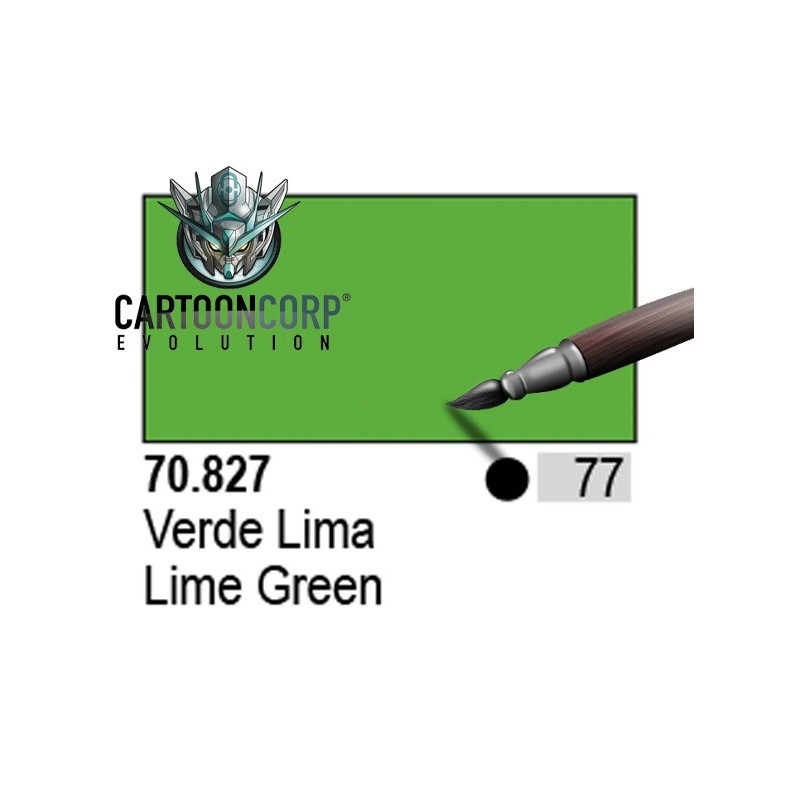 077 - 70827 - VERDE LIMA