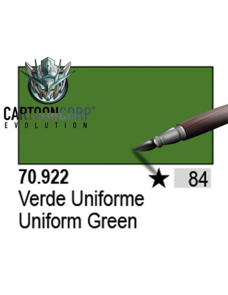 084 - 70922 - VERDE UNIFORME