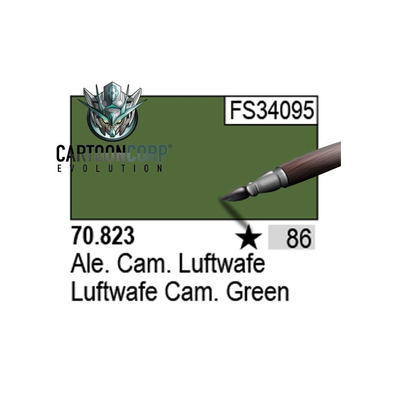 086 - 70823 - ALEMAN CAM. LUFTWAFE