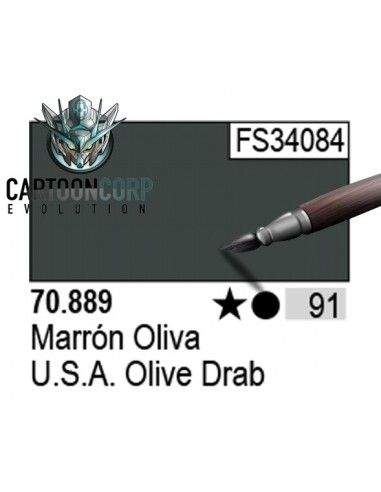 091 - 70889 - MARRON OLIVA