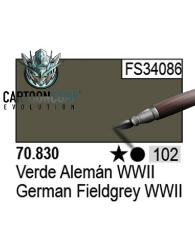 102 - 70830 - VERDE ALEMAN WWII