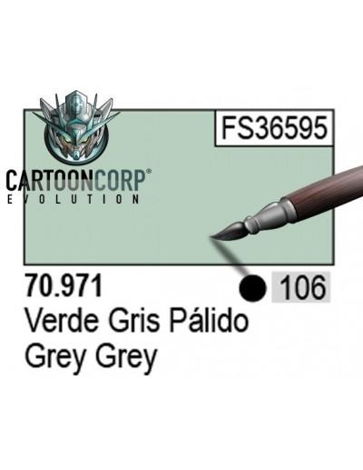 106 - 70971 - VERDE GRIS PALIDO