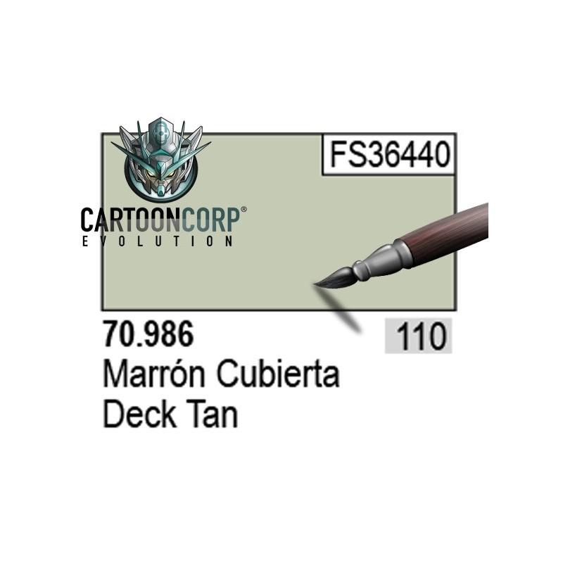 110 - 70986 - MARRON CUBIERTA