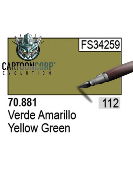112 - 70881 - VERDE AMARILLO