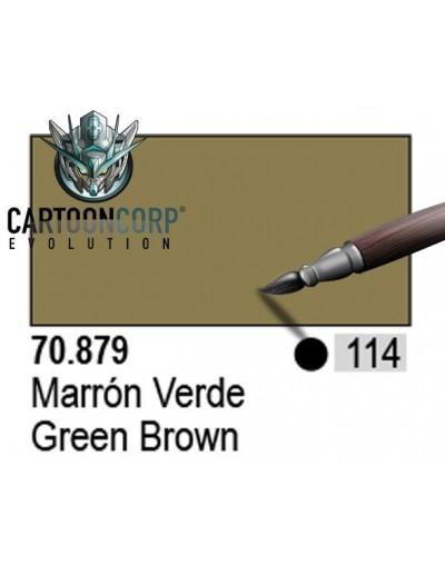 114 - 70879 - MARRON VERDE