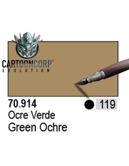 119 - 70914 - OCRE VERDE