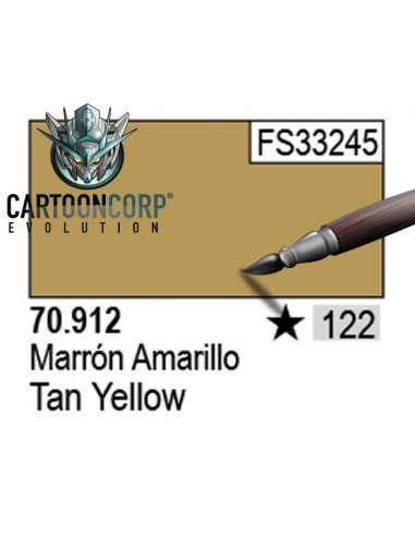 122 - 70912 - MARRON AMARILLO