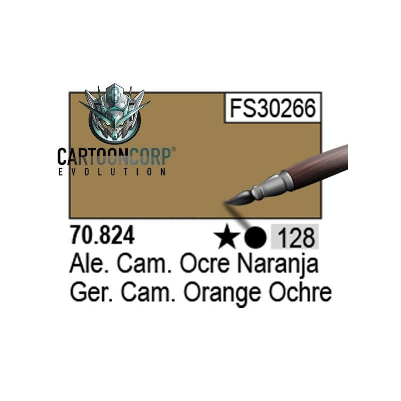 128 - 70824 - ALEMAN CAMUFLAJE OCRE NARANJA