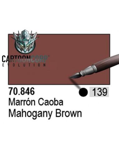 139 - 70846 - MARRON CAOBA