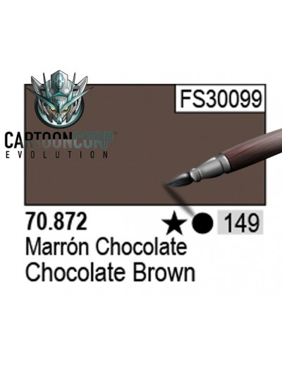 149 - 70872 - MARRON CHOCOLATE